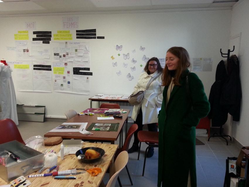 Atelier #7 Paroles et images de femmes, 22 février 2018, Alix, Marie-Claire Raoul, Local de la Pointe, Brest