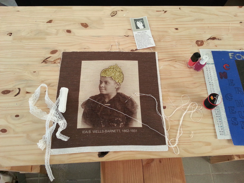 Atelier #8 Paroles et images de femmes, 25 février 2018, Ida B. Wells, Marie-Claire Raoul, Local de la Pointe, Brest