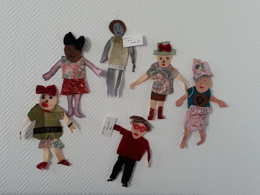 La parade d'Anna-Sophie Lewerenz, artiste plasticienne de Kiel