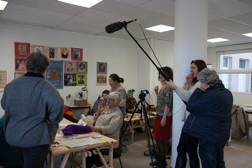 Atelier #8 Paroles et images de femmes, 28 février 2018, Osons filmer, canal Ty Zef, Véronique Pondaven, Marie-Claire Raoul, Local de la Pointe, Brest