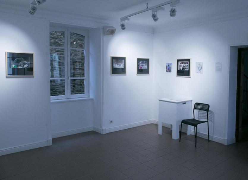 Salle 1, Adèle dans la ville, Paroles et images de femmes de Brest à Kiel, Maison de la Fontaine, du 7 mars au 21 avril 2018, Brest, Marie-Claire Raoul