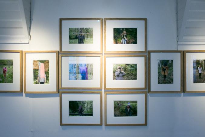 Salle 2, Mon visage est plus qu'un corps, photographies, Paroles et images de femmes de Brest à Kiel, Maison de la Fontaine, du 7 mars au 21 avril 2018, Brest, Marie-Claire Raoul