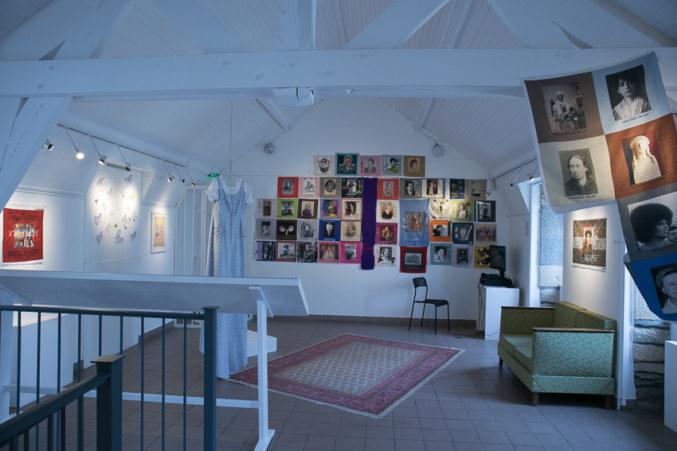 Salle 2, Paroles et images de femmes de Brest à Kiel, Maison de la Fontaine, du 7 mars au 21 avril 2018, Brest, Marie-Claire Raoul