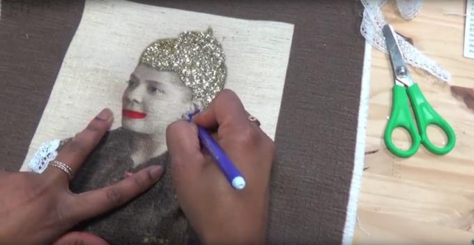 Vidéo de l'atelier Paroles et images de femmes du 21 dévrier au 8 mars 2018 animé par Marie-Claire Raoul