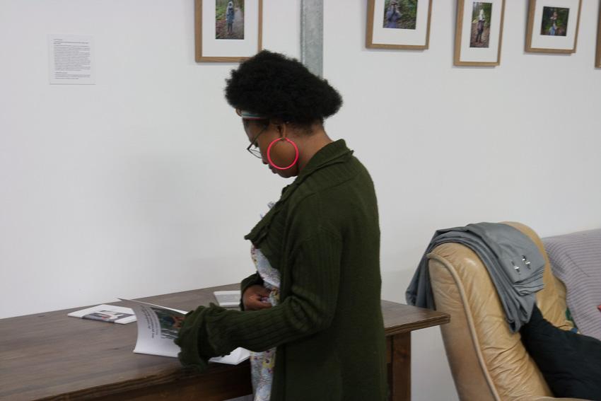 """Présentation par Marie-Claire Raoul de l'exposition """"Paroles et images de femmes"""", dans le cadre de l'académie d'été 2018 """"Etudes sur le genre"""" organisée par l'UBO et l'université de Rennes."""