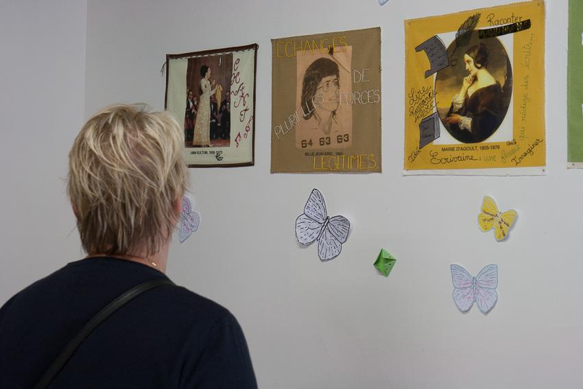Présentation par Marie-Claire Raoul de l'exposition