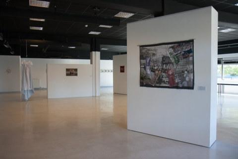 Paroles et images de femmes par l'artiste plasticienne Marie-Claire Raoul, à la galerie Les Abords dans le cadre de l'académie d'été 2018 Etudes sur le genre organisée par l'UBO et l'université de Rennes.