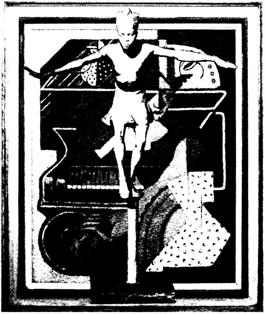[Femmes créatrices, femmes libres], affiche pour l'atelier mis en place par Marie-Claire Raoul avec le Musée des Beaux-Arts de Brest et l'espace Lcause