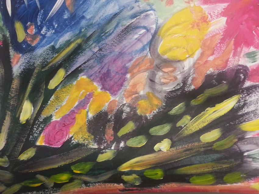 Séquence 4 de l'atelier [femmes créatrices femmes libres] de Marie-Claire Raoul, 22 mars 2019, couleurs de soi, Marie-Odile