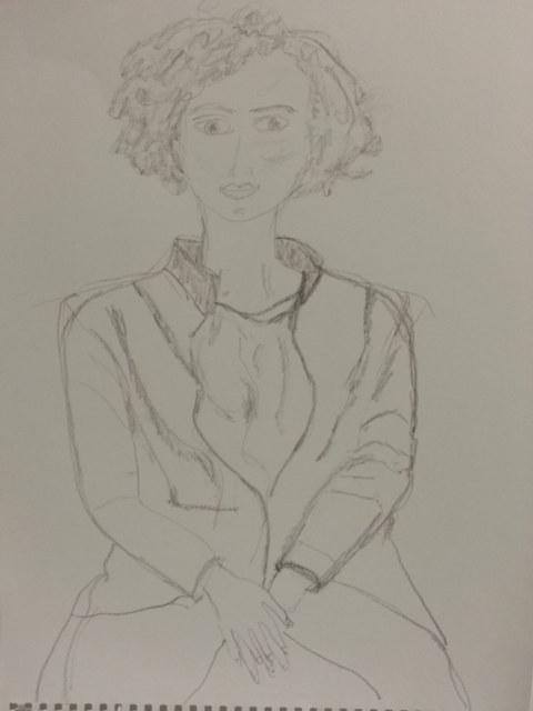 Séquence 2 de l'atelier [femmes créatrices femmes libres] de Marie-Claire Raoul, 3 mars 2019