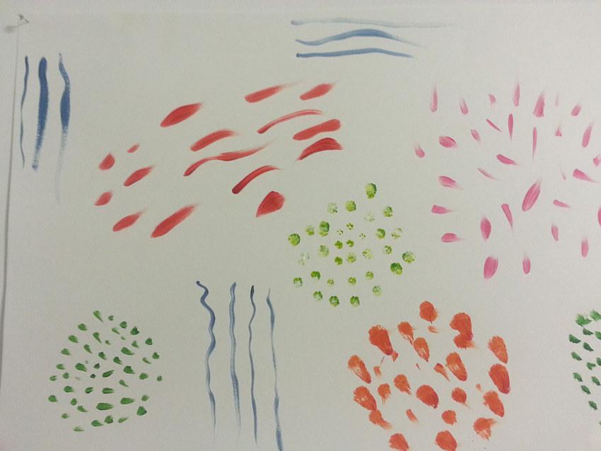 Séquence 4 de l'atelier [femmes créatrices femmes libres] de Marie-Claire Raoul, 22 mars 2019, couleurs de soi, Nina