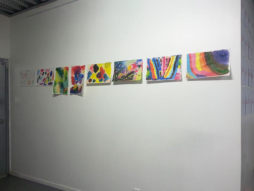 Séquence 4 de l'atelier [femmes créatrices femmes libres] de Marie-Claire Raoul, 22 mars 2019, couleurs de soi
