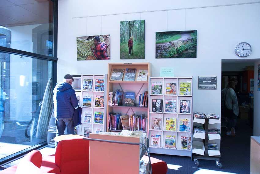 Vue de l'exposition de photographies [État second] de Marie-Claire Raoul,médiathèque St Martin à Brest, du 19 janvier au 2 mars 2019, Marie-Claire Raoul