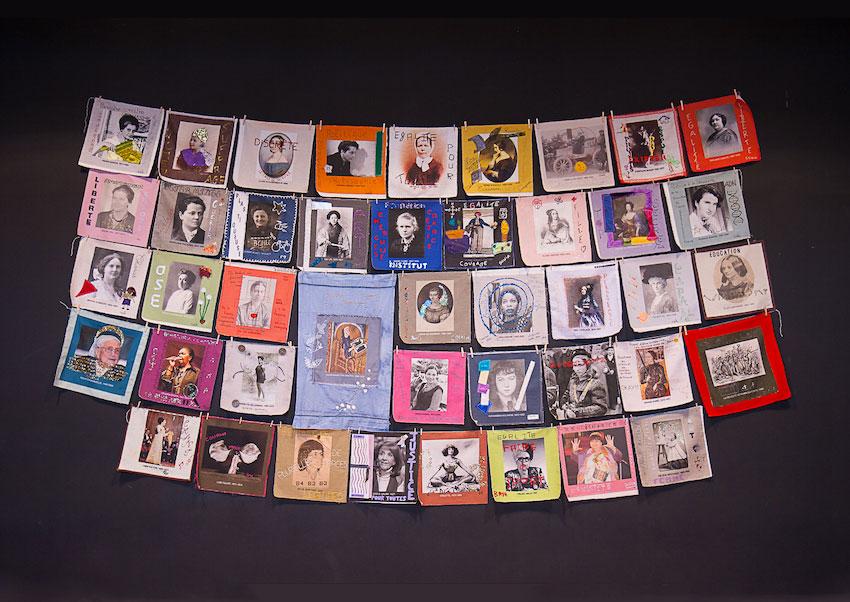 """Présentation du projet [Paroles et images de femmes] aux étudiants et professeurs du master """"Études sur le genre"""", UBO , Rennes 2,marie-claire-raoul"""