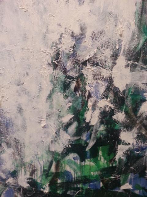 Visite commentée de l'exposition [Mitchell/Riopelle, un couple dans la démesure] le 8 avril 2109 au FHEL à Lanerneau, Atelier [Femmes créatrices, femmes libres !] de Marie-Claire Raoul