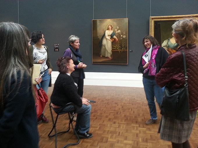 Troisième visite du Musée des Beaux-Arts de Brest le 25 avril 2019 avec la guide conférencière Élodie Poiraud dans le cadre de l'atelier [Femmes créatives, femmes libres !] de Marie-Claire Raoul