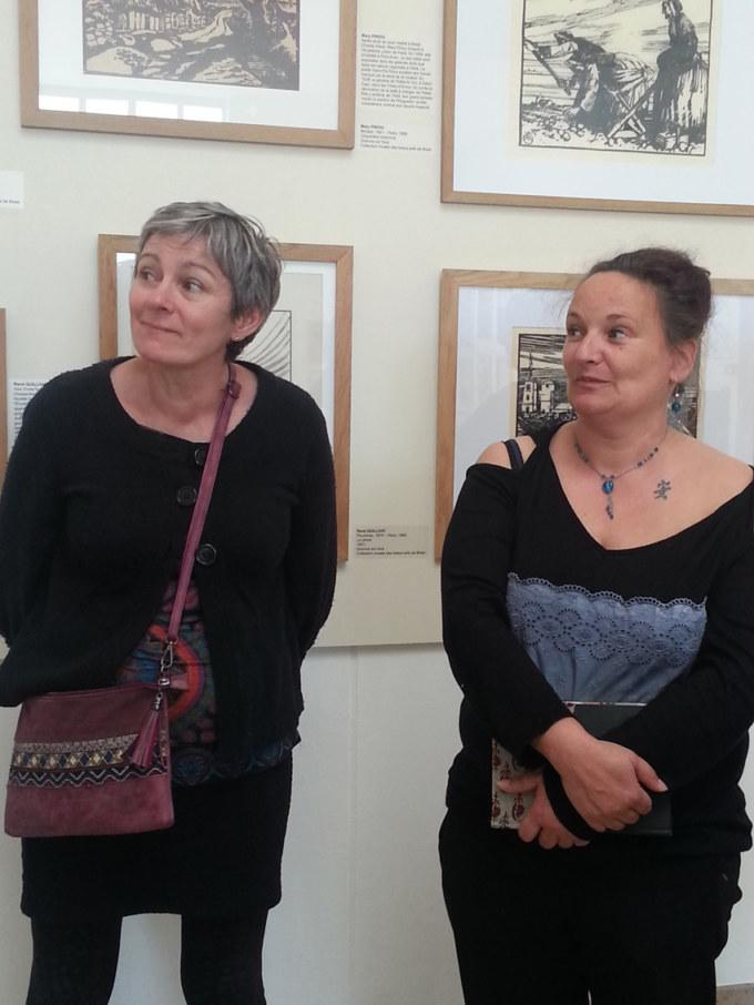 Quatrième visite du Musée des Beaux-Arts de Brest le 25 avril 2019 avec la guide conférencière Élodie Poiraud dans le cadre de l'atelier [Femmes créatives, femmes libres !] de Marie-Claire Raoul