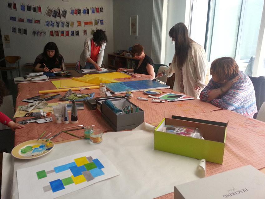 Atelier [Femmes créatrices, femmes libres], séquence 11, 31 mai 2019 à la Maison Pour Toutes Lcause avec Marie-Claire Raoul