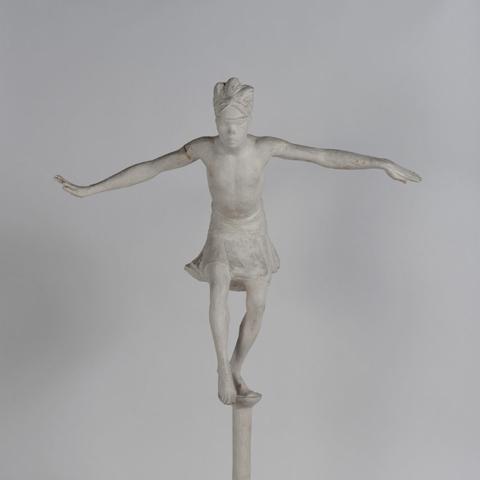 La Papanga, danse de l'oiseau de la sculptrice Anna Quinquaud, plâtre, 1933