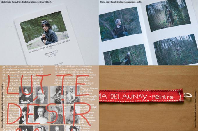 Planches photos de la plasticienne et photographes Marie-Claire Raoul pour le salon de la petite édition Multiples #14 à Morlaix le 9 et 10 novembre 2020