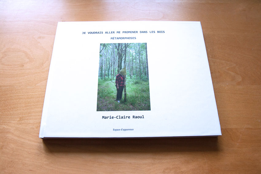 Livre de photographies-Métamorphoses, Marie-Claire Raoul, maquette Matisséo, février 2019