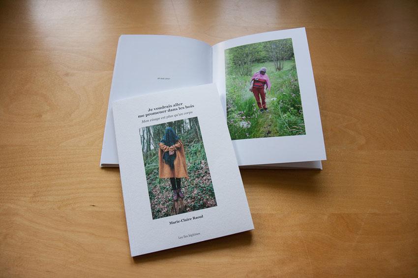 Livret de photographies-Mon visage est plus qu 'un corps, Marie-Claire Raoul, les îles légitimes, Matisséo