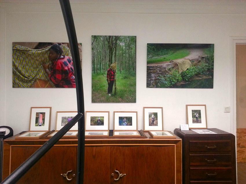 Présentation du projet photographique et du livre [Je voudrais aller me promener dans les bois : Métamorphoses] de Marie-Claire Raoul, les 20 et 21 décembre 2019 chez Zar éditions à Brest