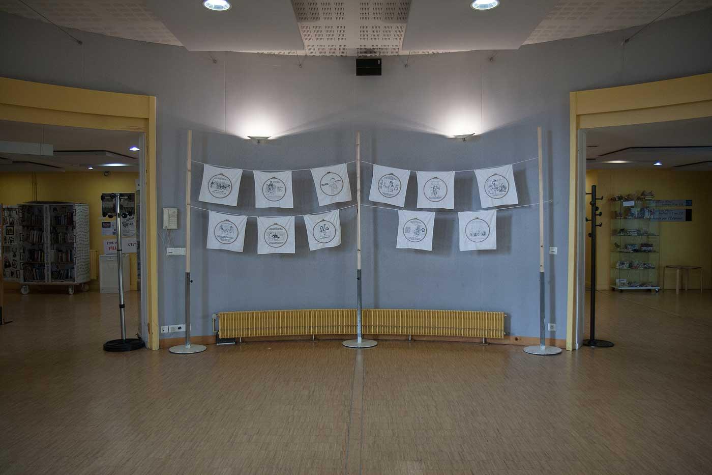 [En avant toutes !], exposition de Marie-Claire Raoul à la MPT Ergué-Armel à Quimper du 3 au 16 mars 2020