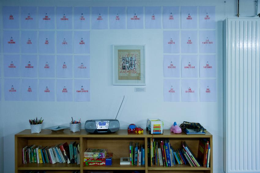Exposition de Marie-Claire Raoul et Marion Plumet [Ne me Libère pas je m'en charge] à la Maison Pour Toutes Lcause du 26.03. au 05.04.2020, Marie-Claire Raoul