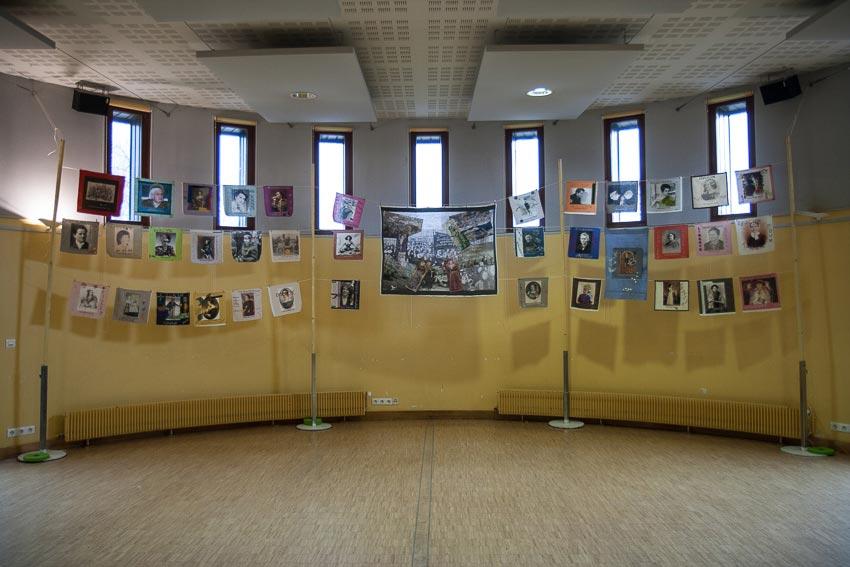 En avant toutes !, exposition de Marie-Claire Raoul à la MPT Ergué-Armel à Quimper du 3 au 16 mars 2020, Marie-Claire Raoul
