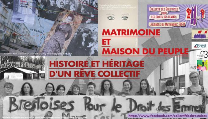 Visuel pour l'évènement Matrimoine et Maison du peuple, histoire et héritage d'un rêve collectif