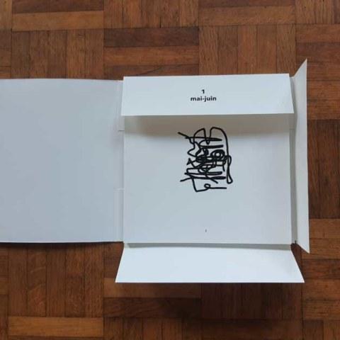 Portfolio [Prenez et mangez. mai-juin. Corps pense], édition de l'artiste Marie-Claire Raoul, éditions IFFS, novembre 2020